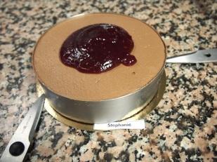 Dark chocolate mousse on the Mogador