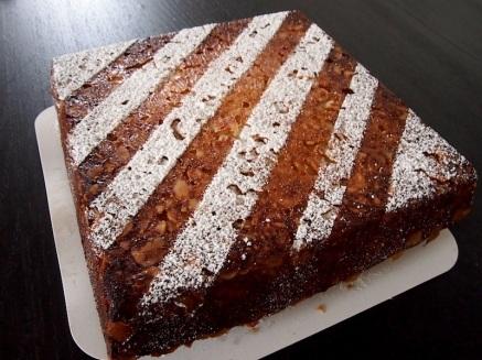 Pavé aux Amandes/Almond Cake