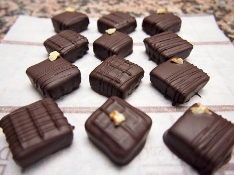 Dark Chocolates: Coffee Chocolates