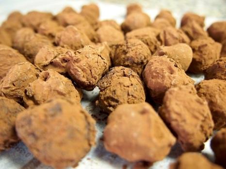 Dark Chocolates: Truffles