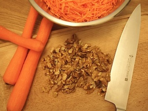 carrots & walnuts