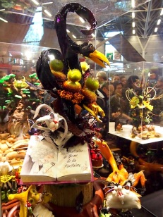 Sugar sculpture by Paul Klein of Pâtisserie Klein in Belfort, winner of 2012 Charles Proust competition at the Salon du Chocolate
