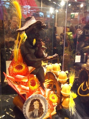 Sugar sculpture by Kyung-Ran Baccon of ENSP, who came 3rd place in the 2012 Charles Proust Competition at Salon du Chocolat