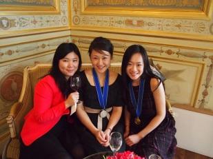 Minseo, Ju Yu et moi